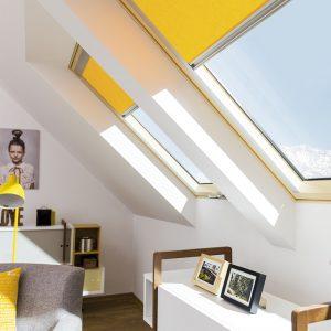 FAKRO FTP-V U4 Top-Safe – Okno dachowe obrotowe [Trzyszybowe]