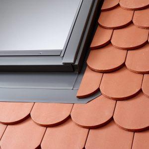 VELUX EDB – Kołnierz okien dachowych do pokryć płaskich (2x19mm)