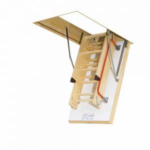 FAKRO LTK Energy – Drewniane schody strychowe termoizolacyjne