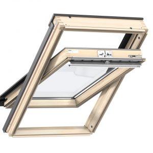 VELUX GLL 1061 Okno dachowe obrotowe z górnym otwieraniem [3-szybowe]