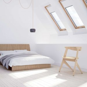 roofART COMFORT – Okno dachowe obrotowe [2 szybowe]