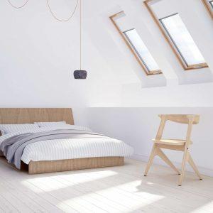 RoofART Premium Thermo – okno dachowe obrotowe [3 szybowe]