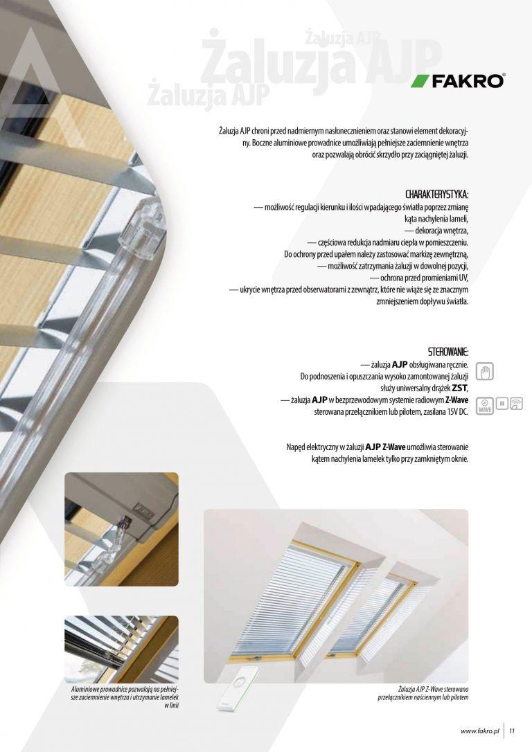 żaluzje i rolety na okna dachowe fakro (2)