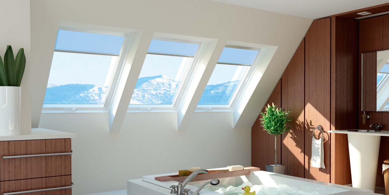 okna dachowe lazienkowe