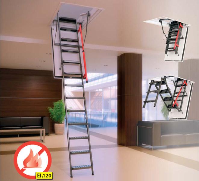 schody strychowe ognioodporne