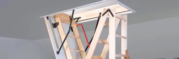 drewniane schody strychowe fakro