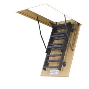 fakro schody strychowe metalowe LMS 60x120