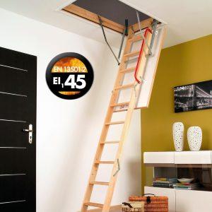 LWF 45 schody strychowe ognioodporne