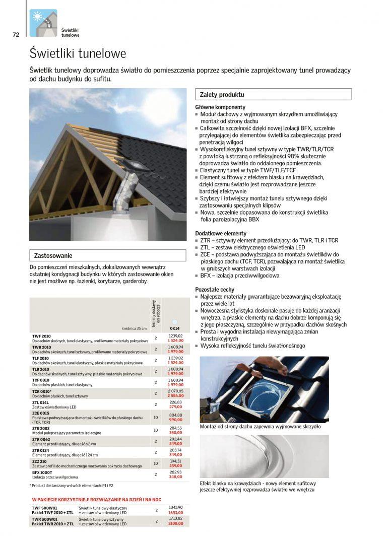 akcesoria na okna dachowe cennik velux 2021 (1)
