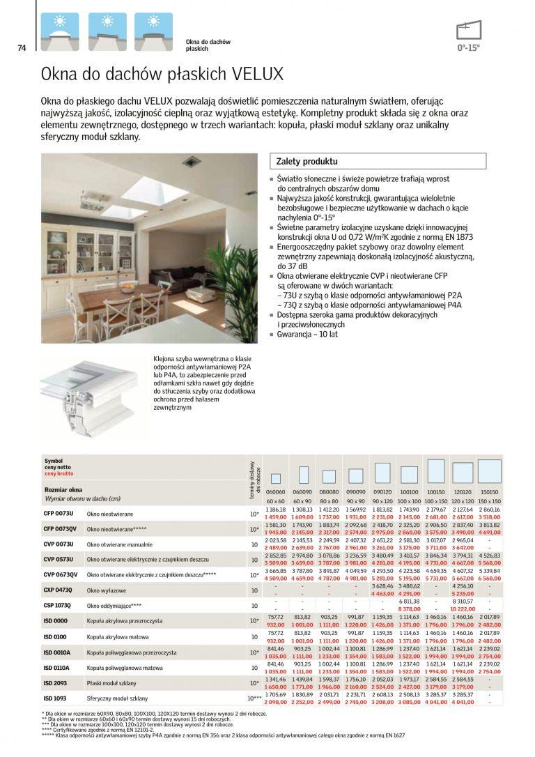 akcesoria na okna dachowe cennik velux 2021 (3)