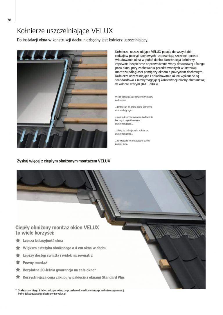 akcesoria na okna dachowe cennik velux 2021 (7)