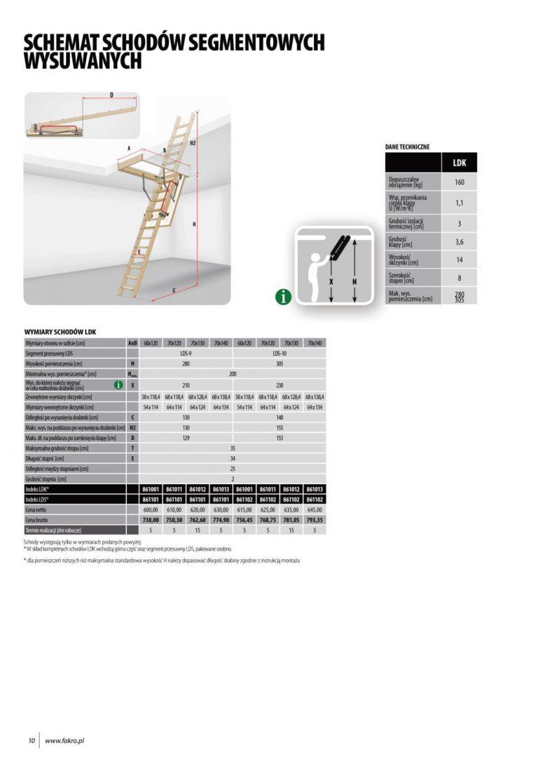 cennik fakro schody na strych (1)