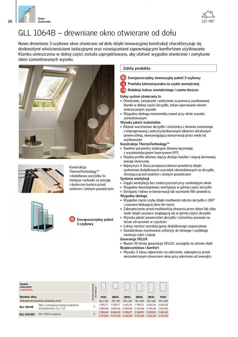 katalog okna dachowe 2021 velux