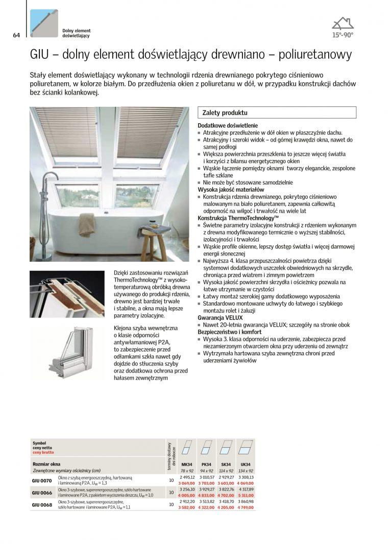 okna dachowe velux cennik 2021 (1)