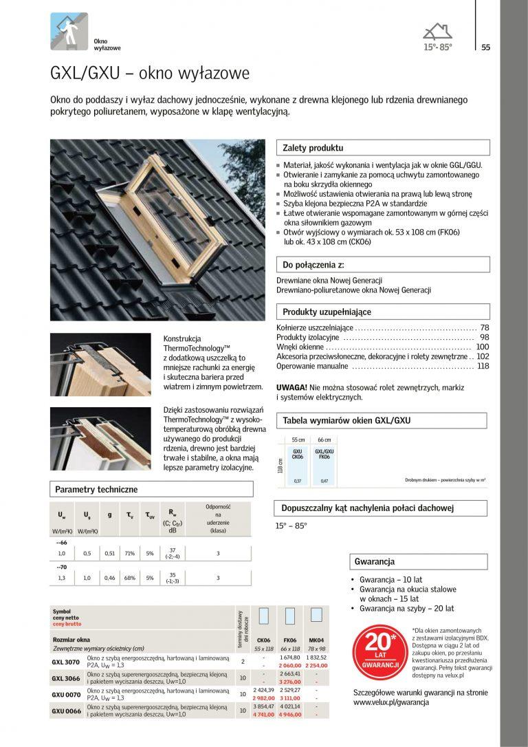 okna dachowe velux cennik 2021 (8)