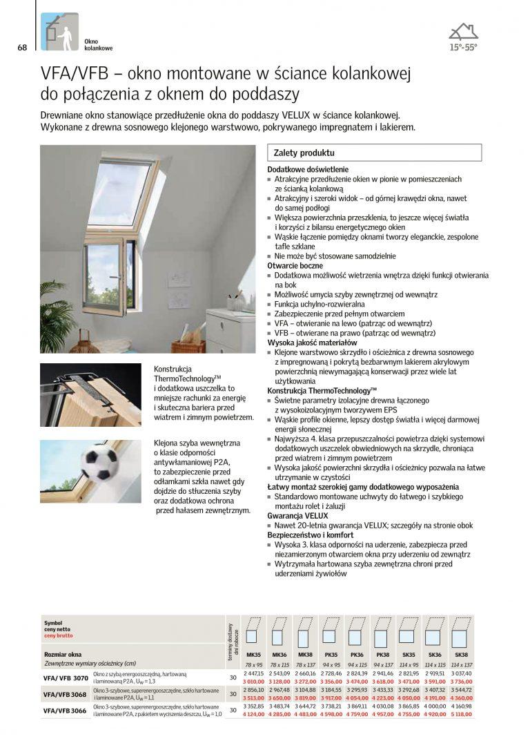 okna na dach velux cennik 2021 (5)
