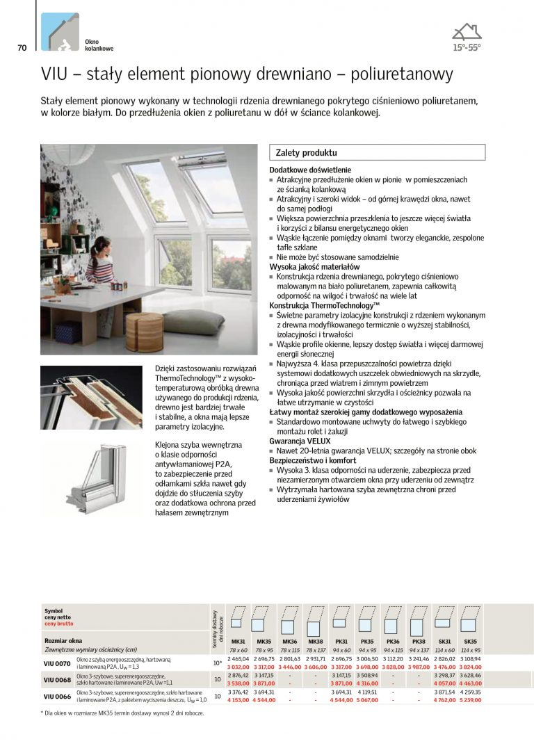 okna na dach velux cennik 2021 (7)