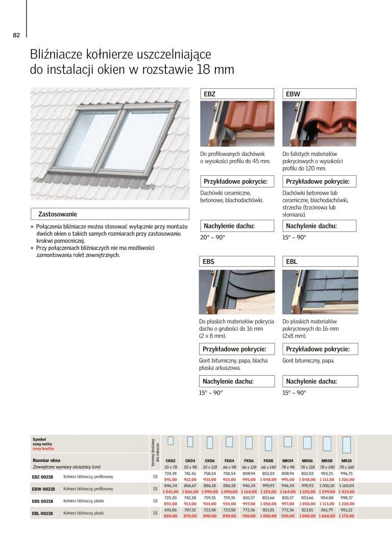 velux okna dachowe 3-szybowe cennik 2021 (3)