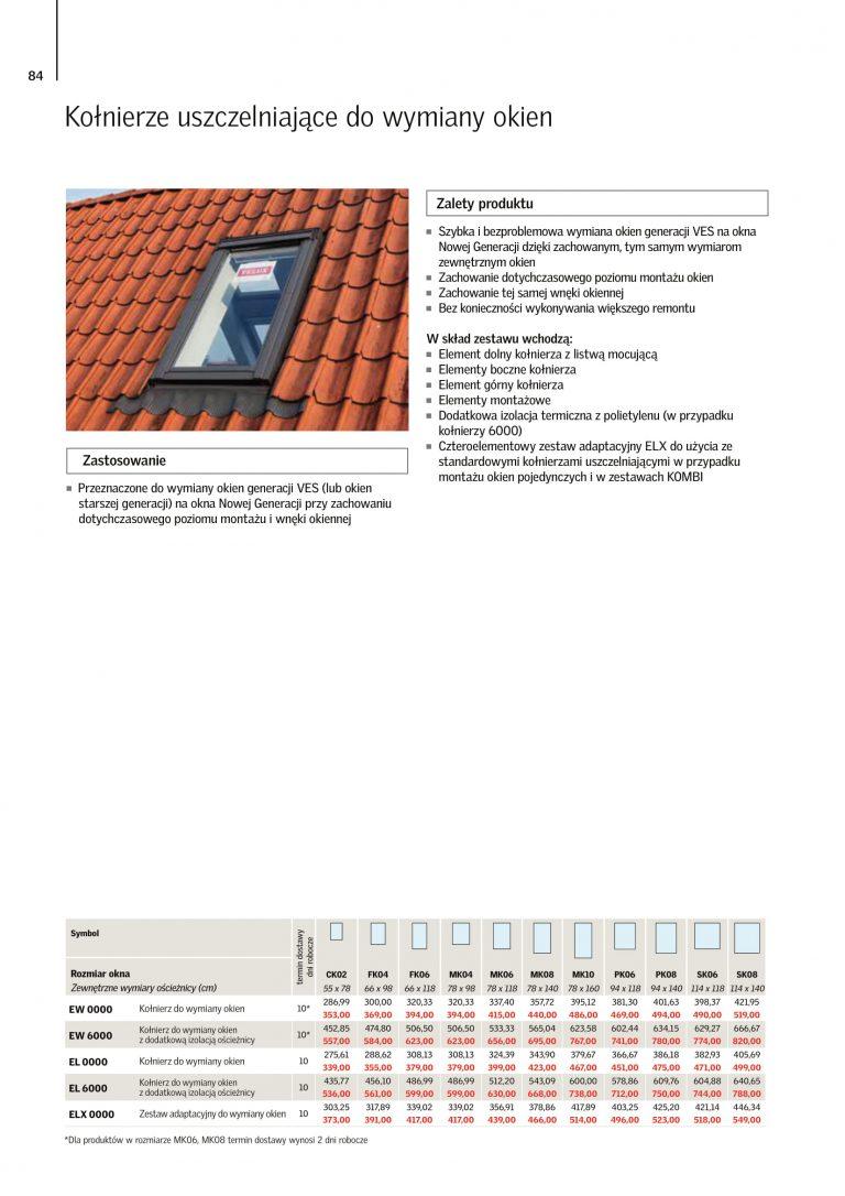 velux okna dachowe 3-szybowe cennik 2021 (5)