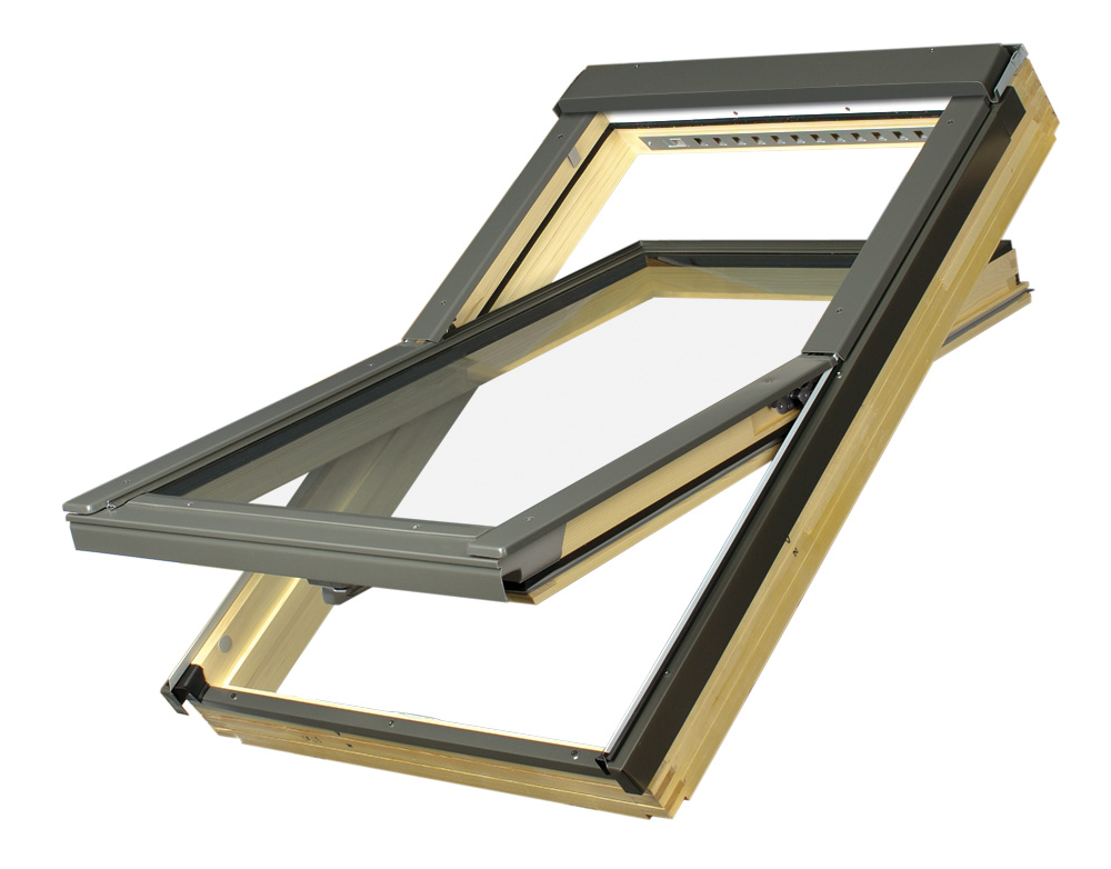 najlepsze okna dachowe drewniane fakro