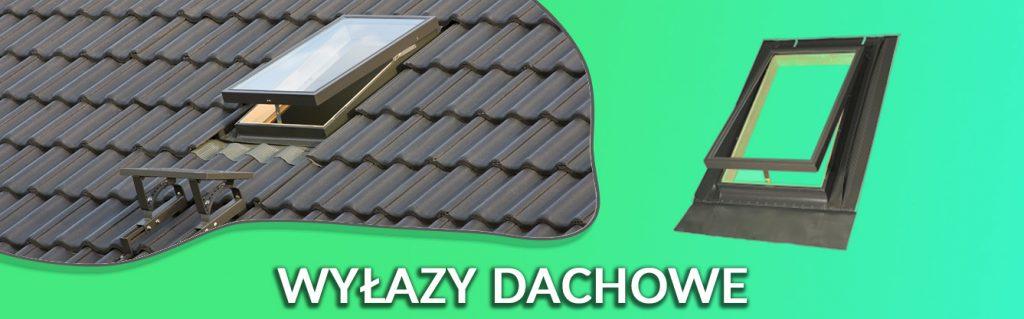 wyłazy dachowe