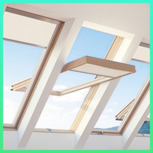 Fakro drewniane okna dachowe