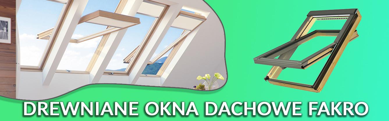 drewniane okna dachowe fakro