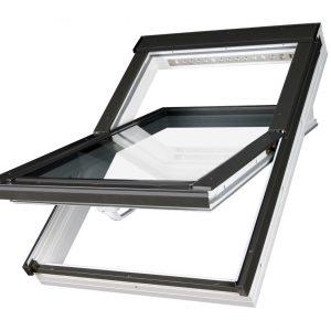 FAKRO PTP-V U4 – okno dachowe obrotowe łazienkowe [trzyszybowe]