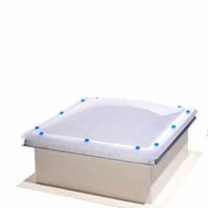 ICOPAL Kominiarczyk – wyłaz do dachu płaskiego z mleczną kopułą