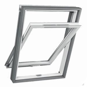 Roofart PCV Thermo – okno dachowe obrotowe łazienkowe [3-szybowe]
