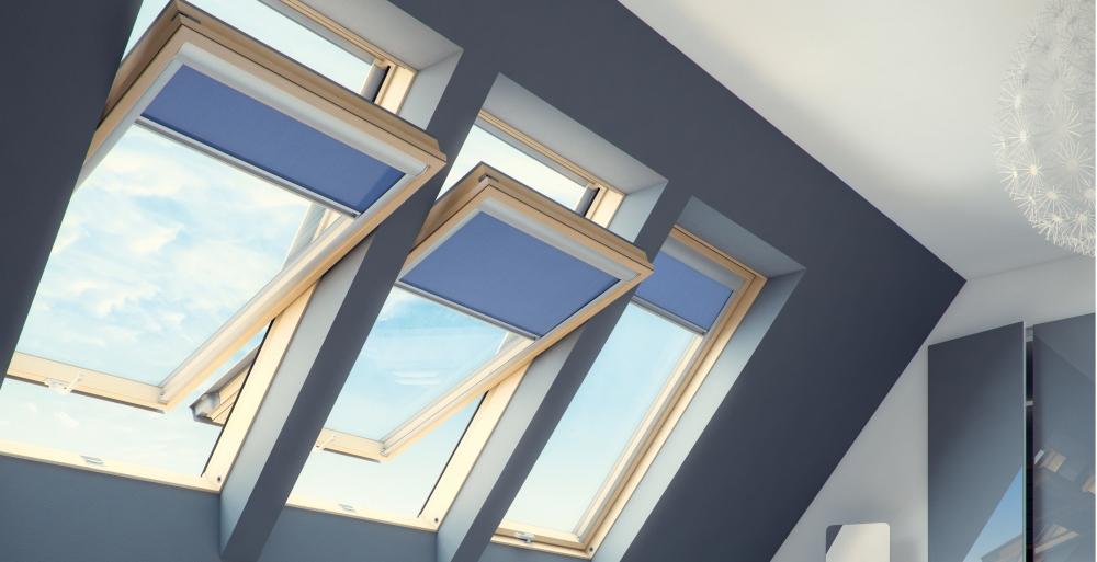 rolety na okna dachowe akcesoria