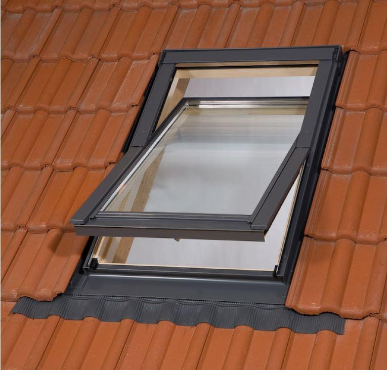 tanie okna dachowe z kołnierzem 78x112 78x118 (2)