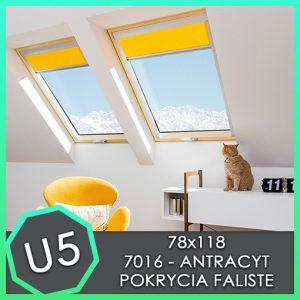 zestaw okna kombi fakro 78x118